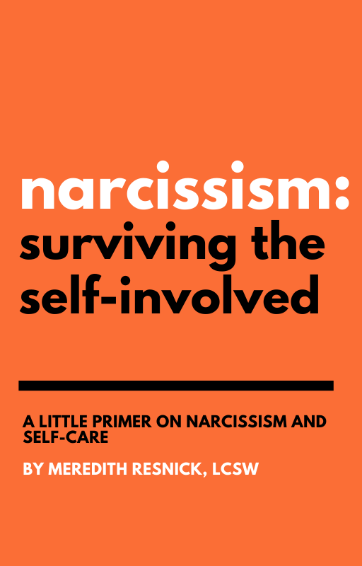 Narcissism Surviving the Self Involved Book Cover